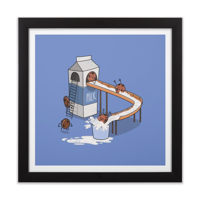 Cookie Slide Home Framed Fine Art Print by TipTop's Artist Shop