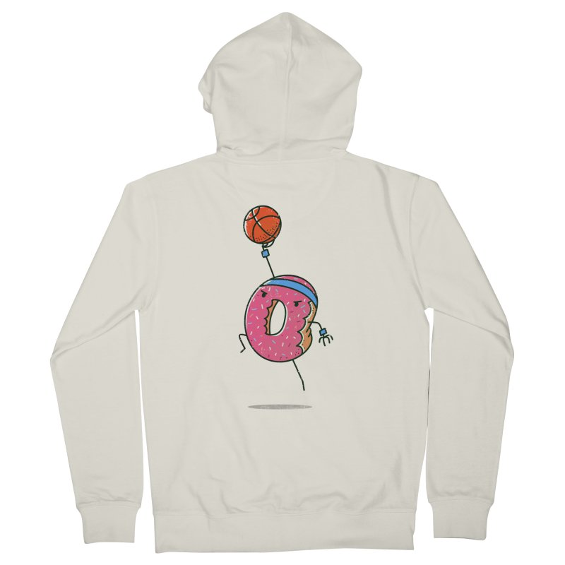 Dunking Donut Women's Zip-Up Hoody by TipTop's Artist Shop
