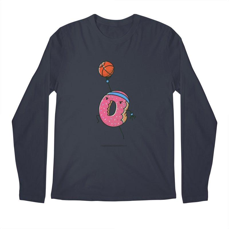 Dunking Donut Men's Longsleeve T-Shirt by TipTop's Artist Shop