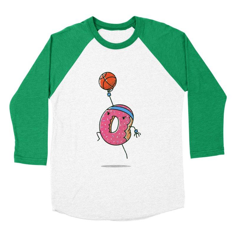 Dunking Donut Women's Baseball Triblend T-Shirt by TipTop's Artist Shop