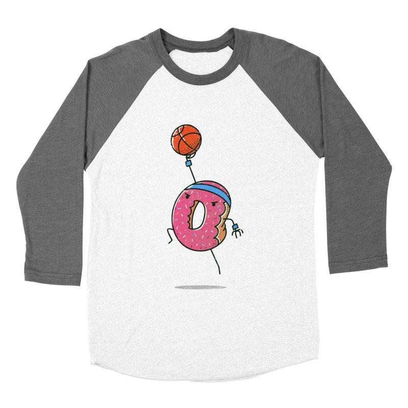 Dunking Donut Men's Baseball Triblend T-Shirt by TipTop's Artist Shop
