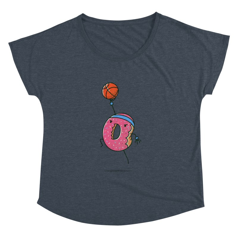 Dunking Donut Women's Dolman by TipTop's Artist Shop