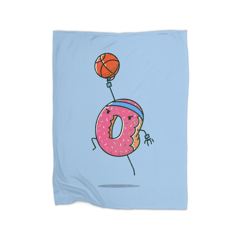 Dunking Donut Home Blanket by TipTop's Artist Shop