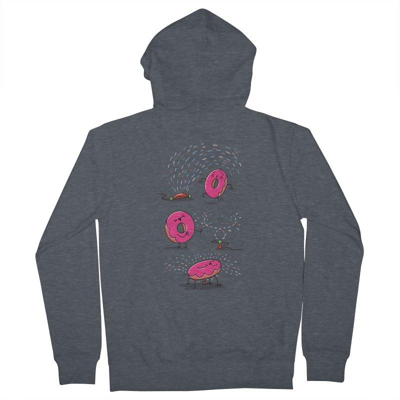With Sprinkles Men's Zip-Up Hoody by TipTop's Artist Shop