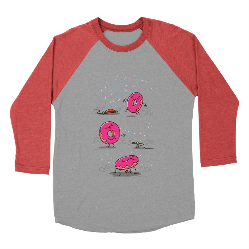 With Sprinkles Women's Baseball Triblend T-Shirt by TipTop's Artist Shop