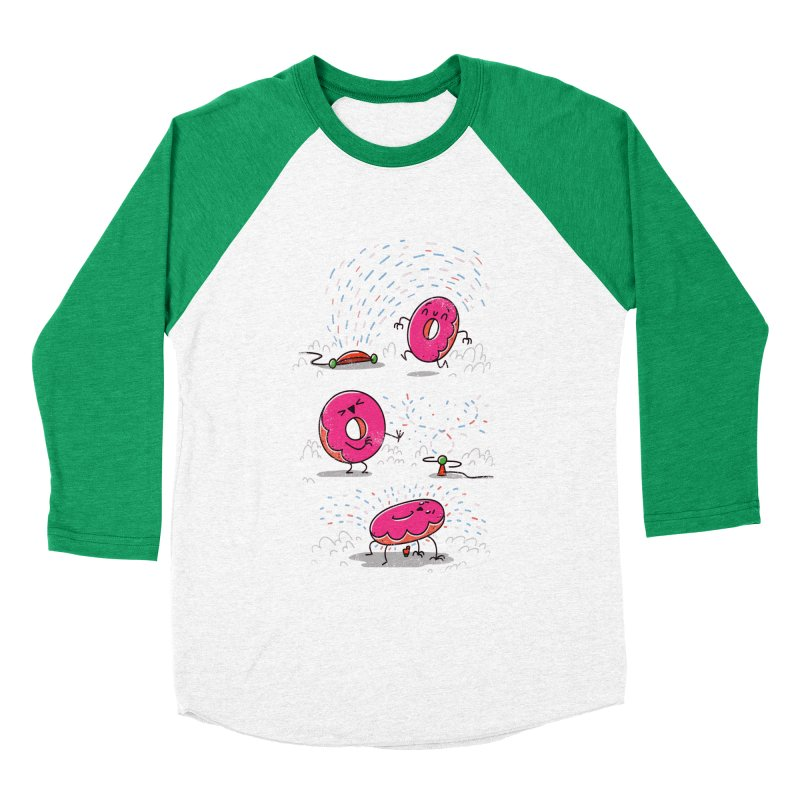 With Sprinkles Men's Baseball Triblend T-Shirt by TipTop's Artist Shop