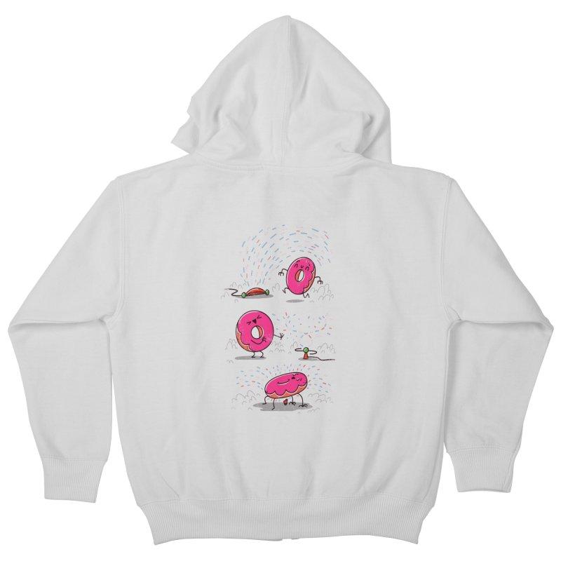 With Sprinkles Kids Zip-Up Hoody by TipTop's Artist Shop