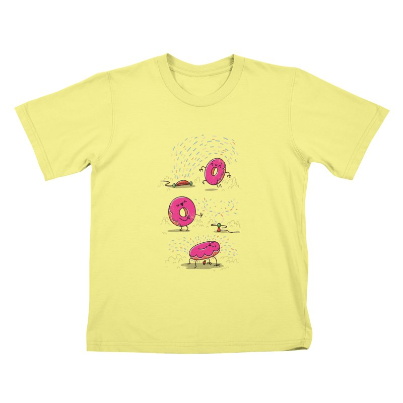With Sprinkles Kids T-shirt by TipTop's Artist Shop