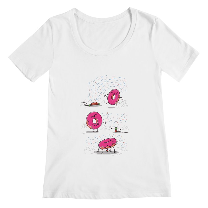 With Sprinkles Women's Scoopneck by TipTop's Artist Shop