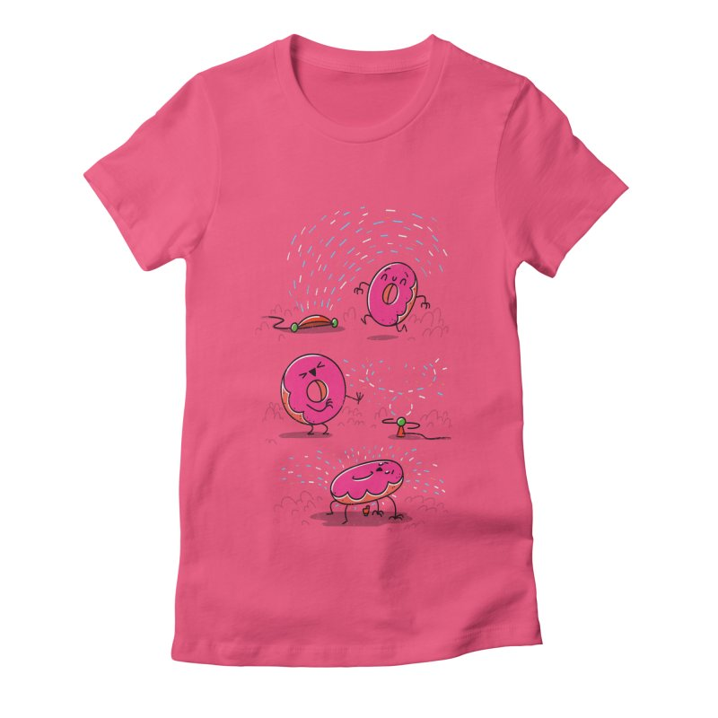 With Sprinkles Women's Fitted T-Shirt by TipTop's Artist Shop