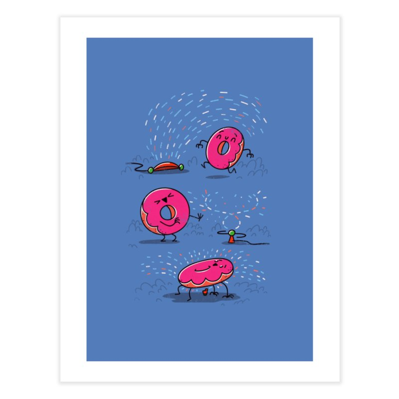 With Sprinkles Home Fine Art Print by TipTop's Artist Shop