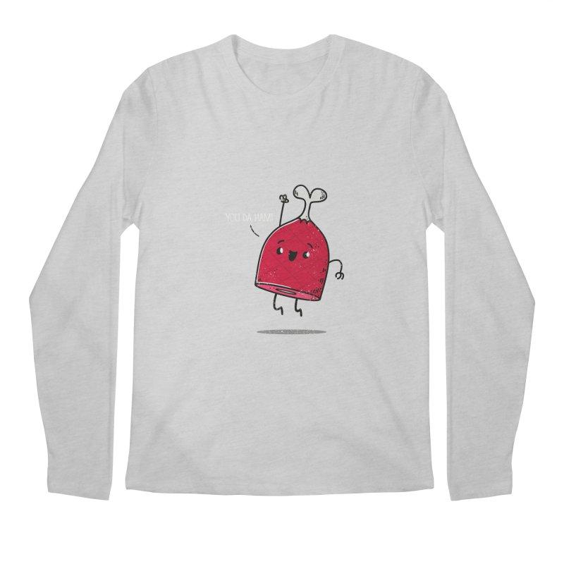 YOU DA HAM! Men's Longsleeve T-Shirt by TipTop's Artist Shop