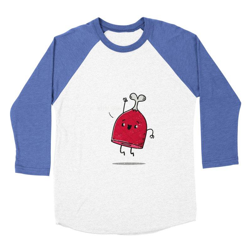 YOU DA HAM! Men's Baseball Triblend T-Shirt by TipTop's Artist Shop