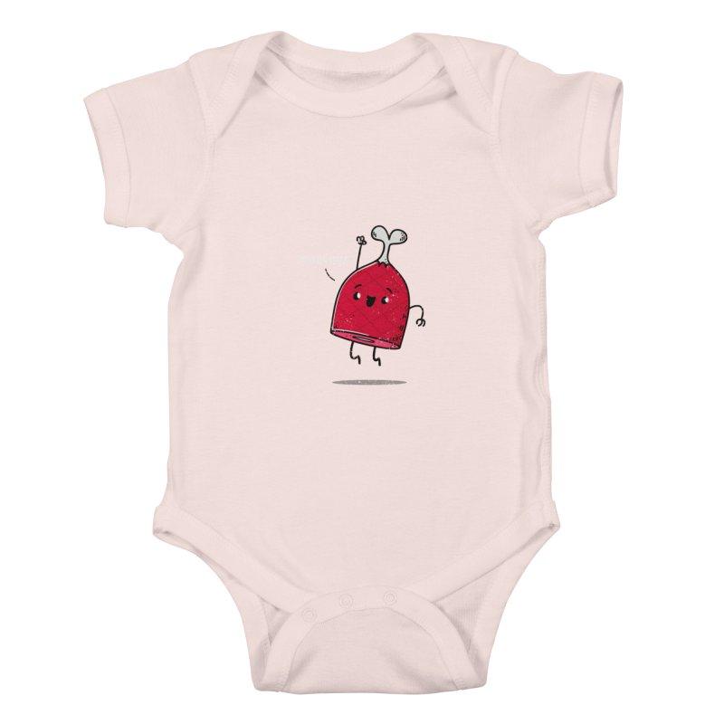 YOU DA HAM! Kids Baby Bodysuit by TipTop's Artist Shop