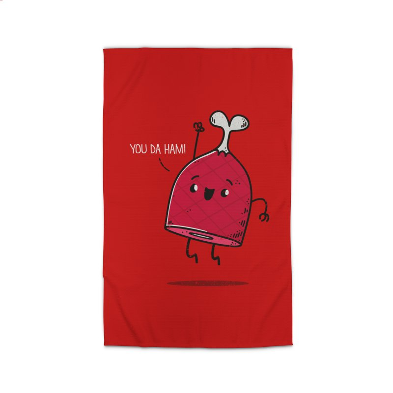 YOU DA HAM! Home Rug by TipTop's Artist Shop