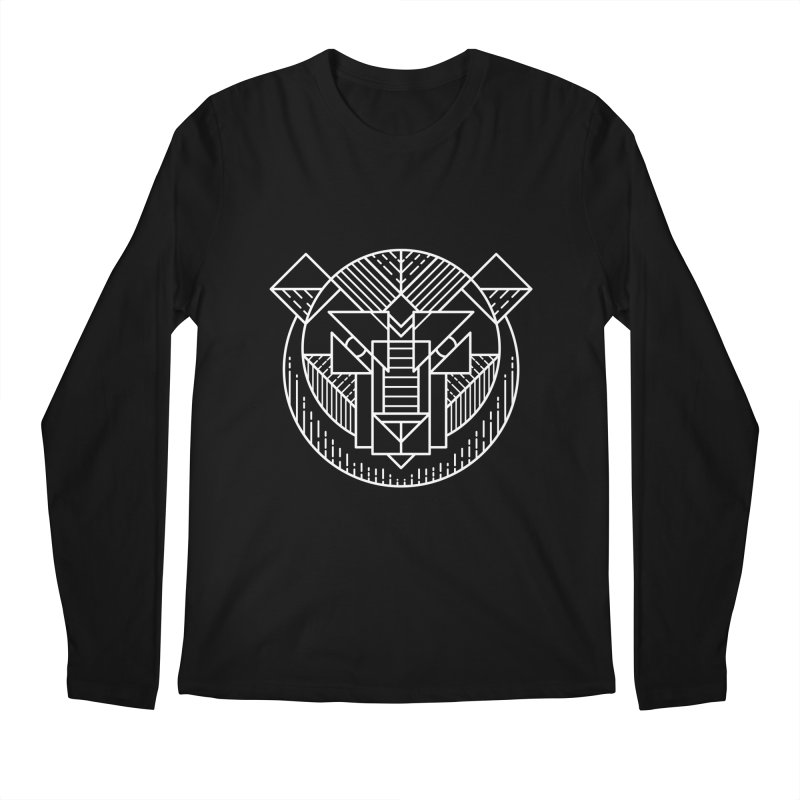 Grizzly Men's Longsleeve T-Shirt by TipTop's Artist Shop