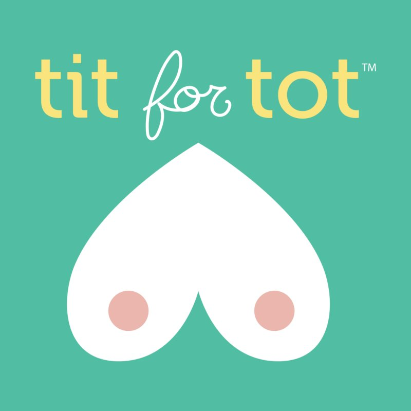Tit for Tot logo - Sweatshirts and Baseball Tees by Tit for Tot