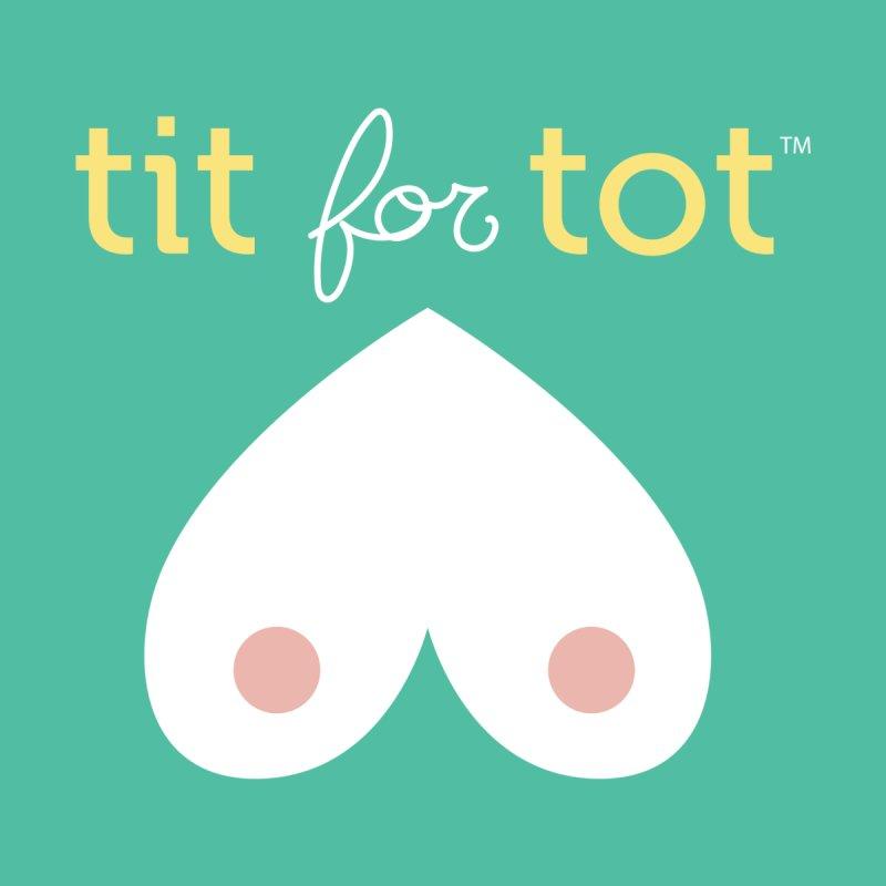 Tit for Tot Logo Kids Baby Longsleeve Bodysuit by Tit for Tot
