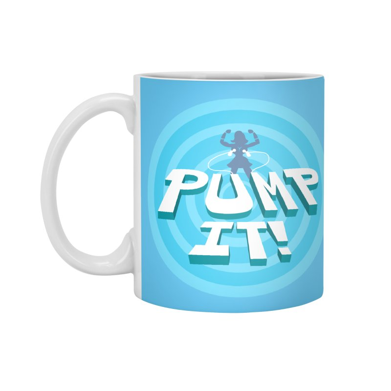 "Tit for Tot ""Pump It!"" Accessories Standard Mug by Tit for Tot"
