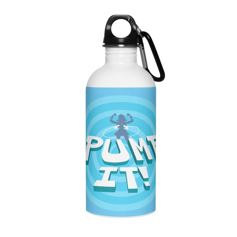 "Tit for Tot ""Pump It!"" Accessories Water Bottle by Tit for Tot"