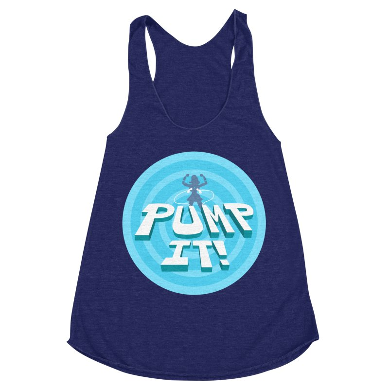 "Tit for Tot ""Pump It!"" Women's Tank by Tit for Tot"