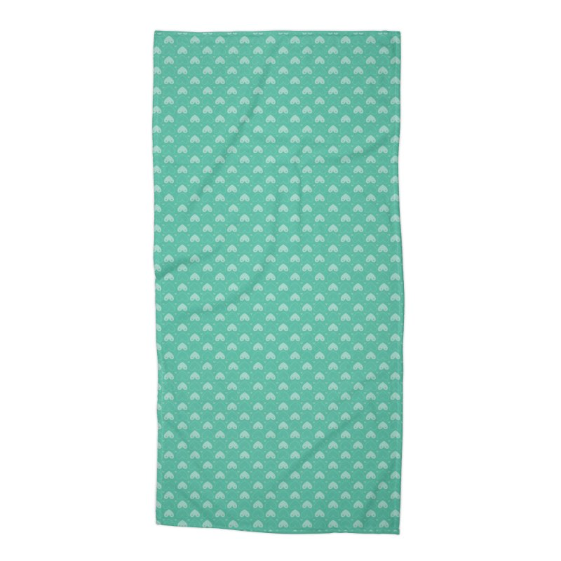 Tit for Tot Emblem Pattern Accessories Beach Towel by Tit for Tot