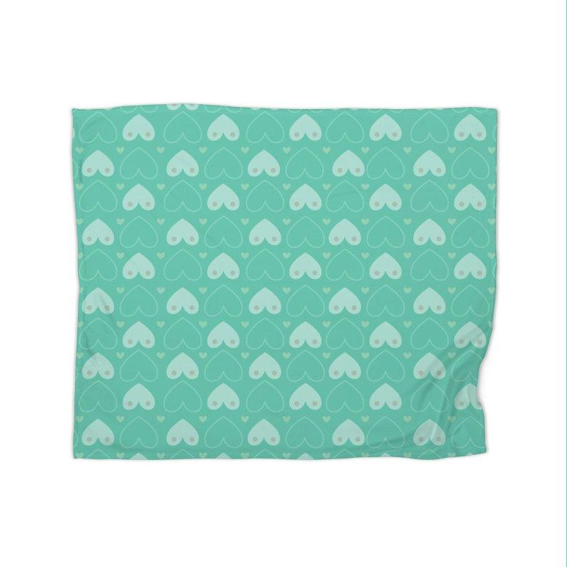 Tit for Tot Emblem Pattern Home Fleece Blanket Blanket by Tit for Tot