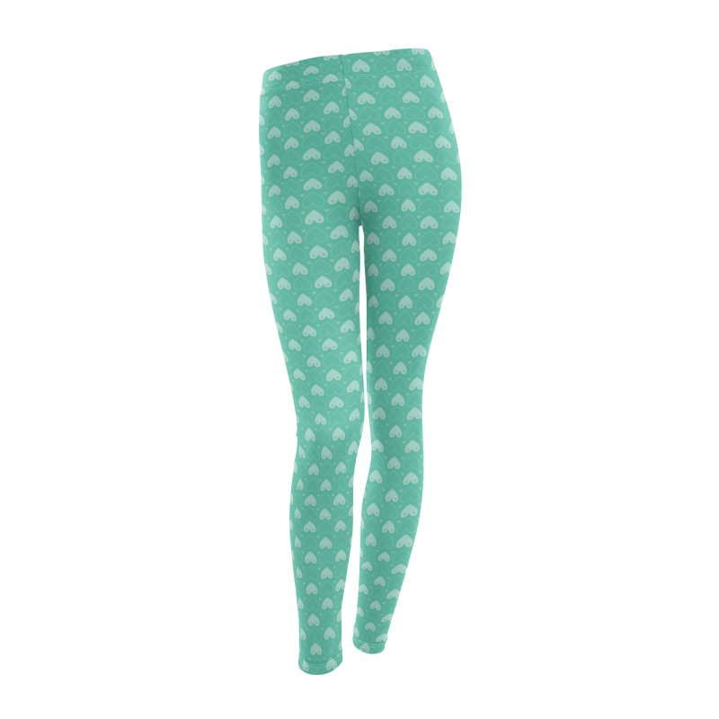 Tit for Tot Emblem Pattern Women's Leggings Bottoms by Tit for Tot