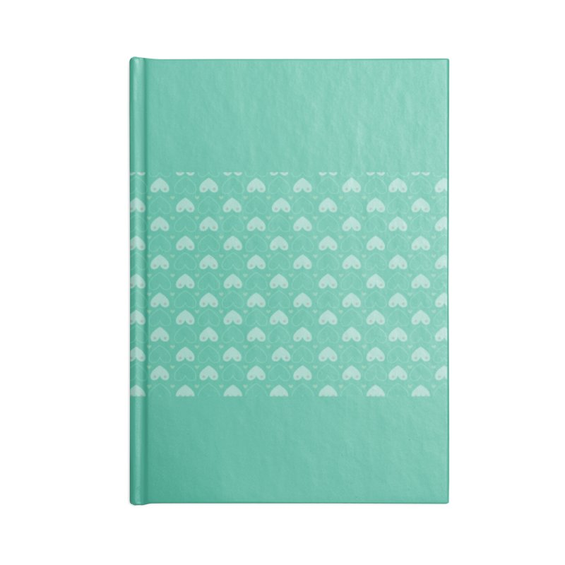 Tit for Tot Emblem Pattern Accessories Blank Journal Notebook by Tit for Tot