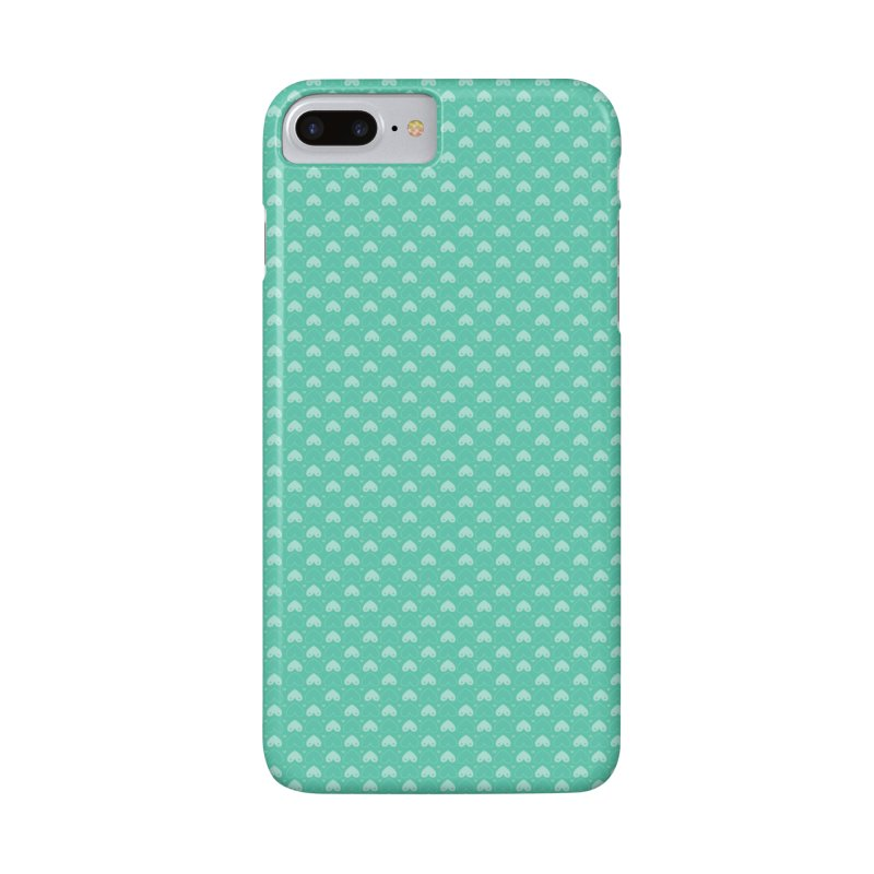 Tit for Tot Emblem Pattern in iPhone 8 Plus Phone Case Slim by Tit for Tot