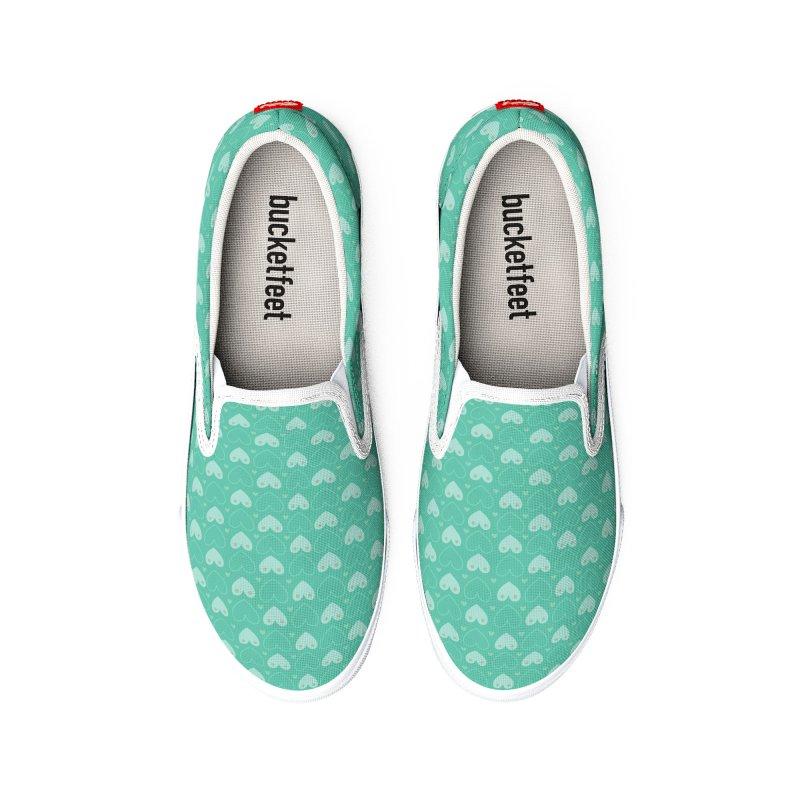 Tit for Tot Emblem Pattern Women's Shoes by Tit for Tot