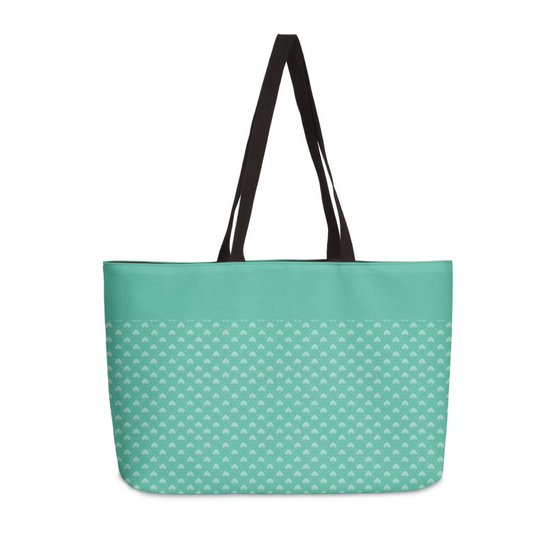 Tit for Tot Emblem Pattern Accessories Weekender Bag Bag by Tit for Tot