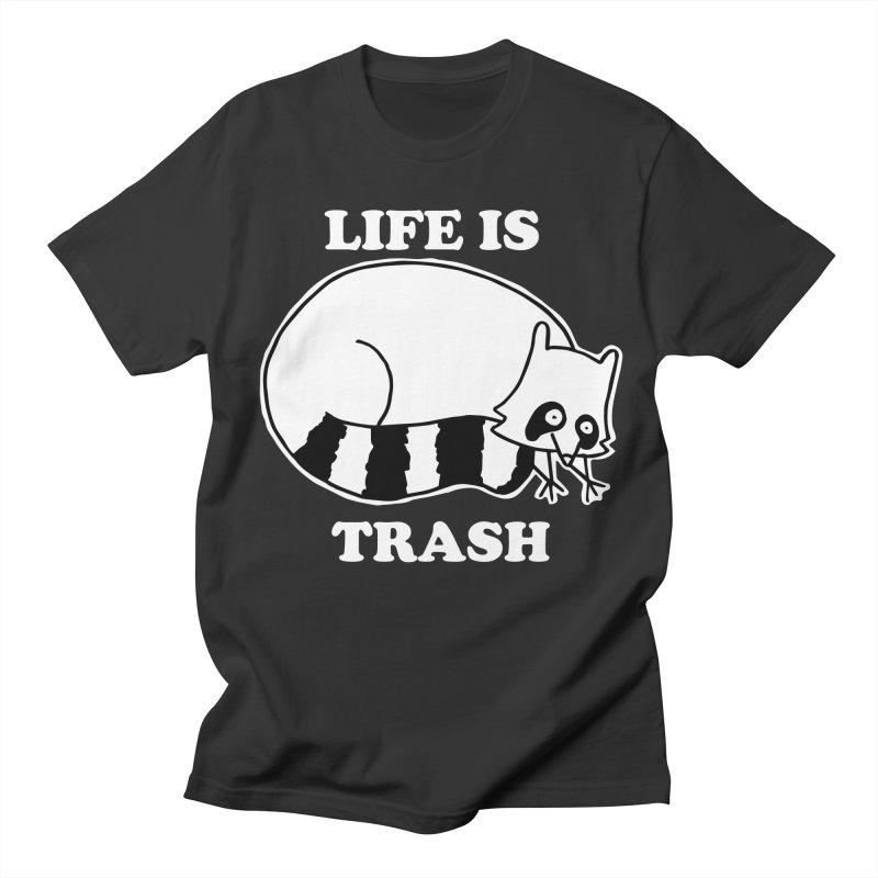 life is trash Men's Regular T-Shirt by Tittybats