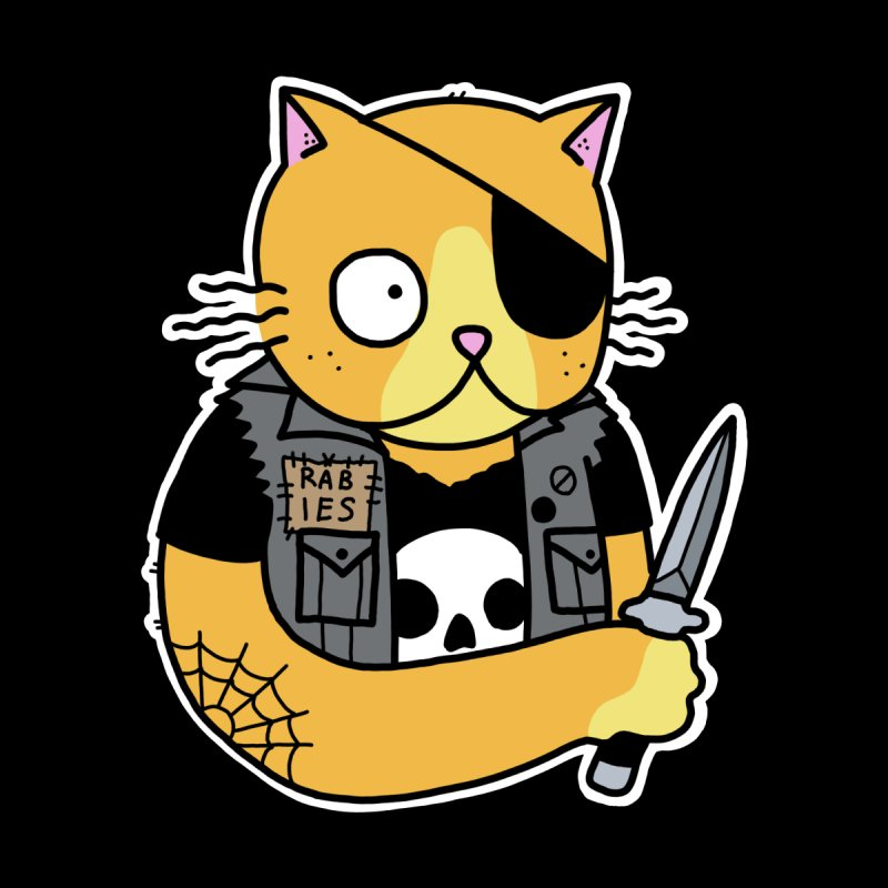 KNIFE CAT ORANGE by Tittybats