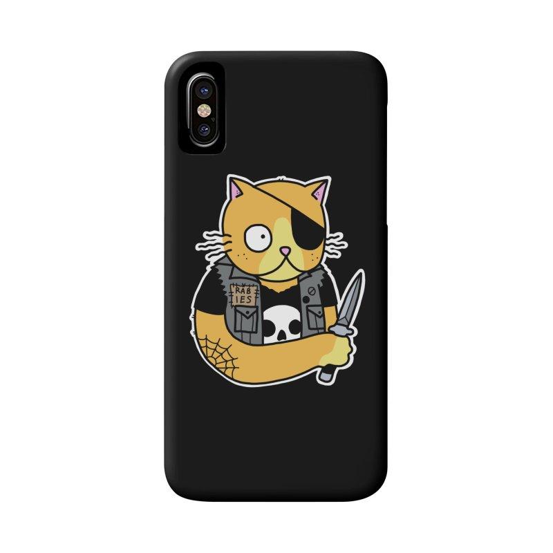 KNIFE CAT ORANGE Accessories Phone Case by Tittybats's Artist Shop