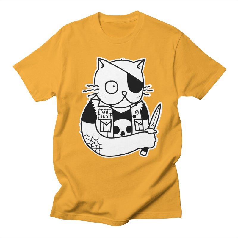 KNIFE CAT Men's Regular T-Shirt by Tittybats