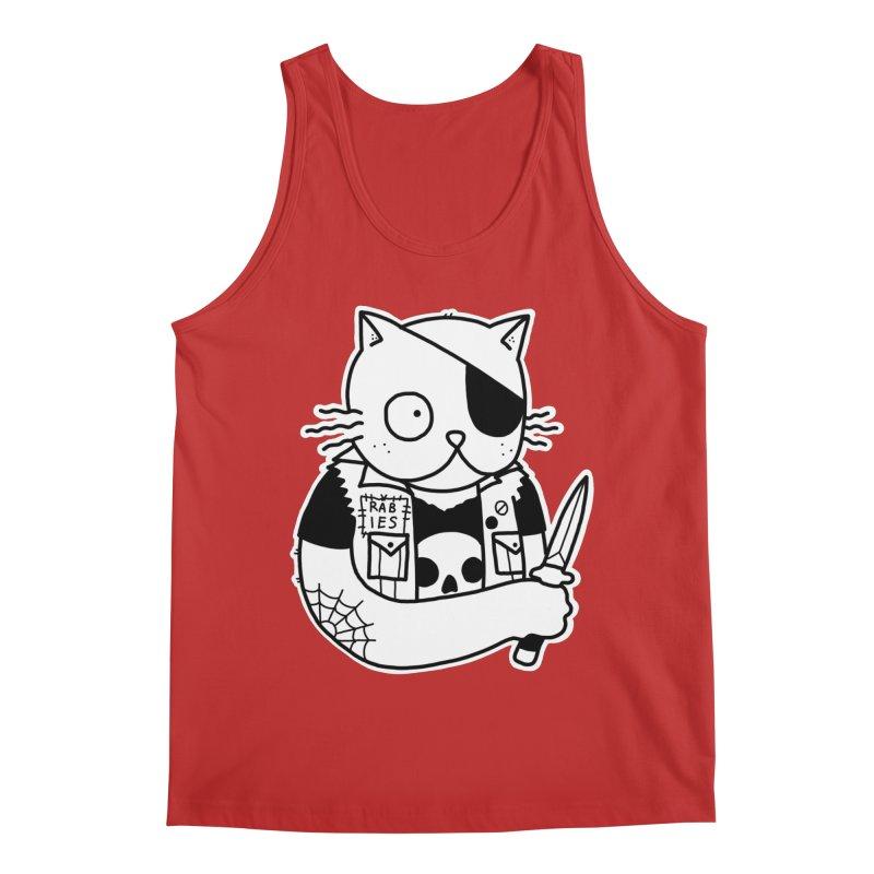 KNIFE CAT Men's Regular Tank by Tittybats