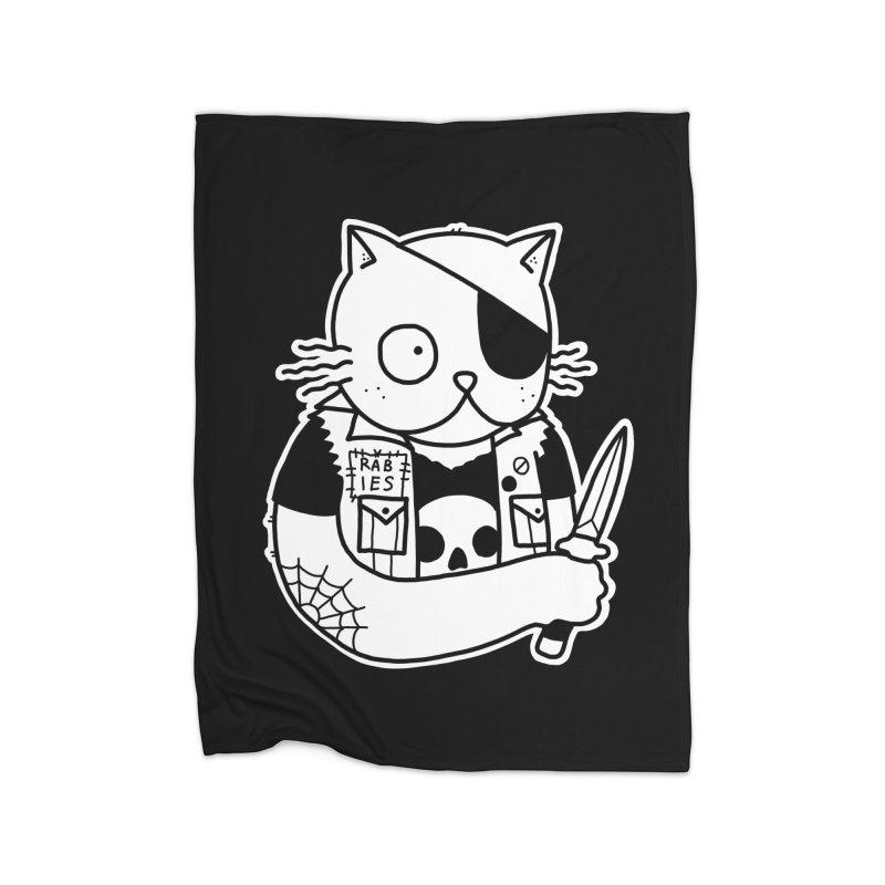 KNIFE CAT Home Blanket by Tittybats's Artist Shop