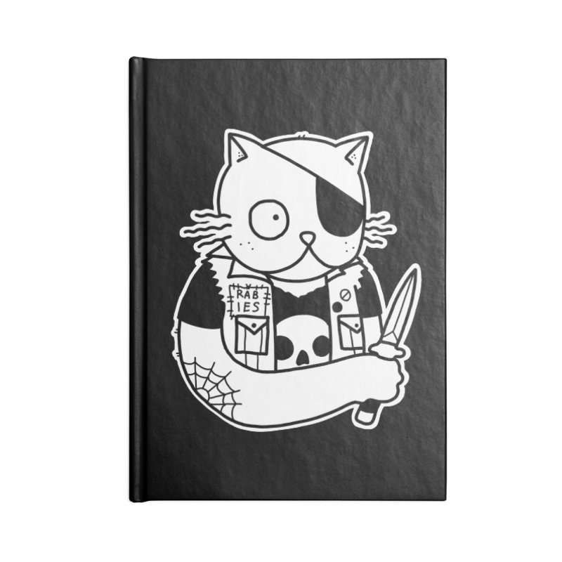 KNIFE CAT Accessories Notebook by Tittybats's Artist Shop