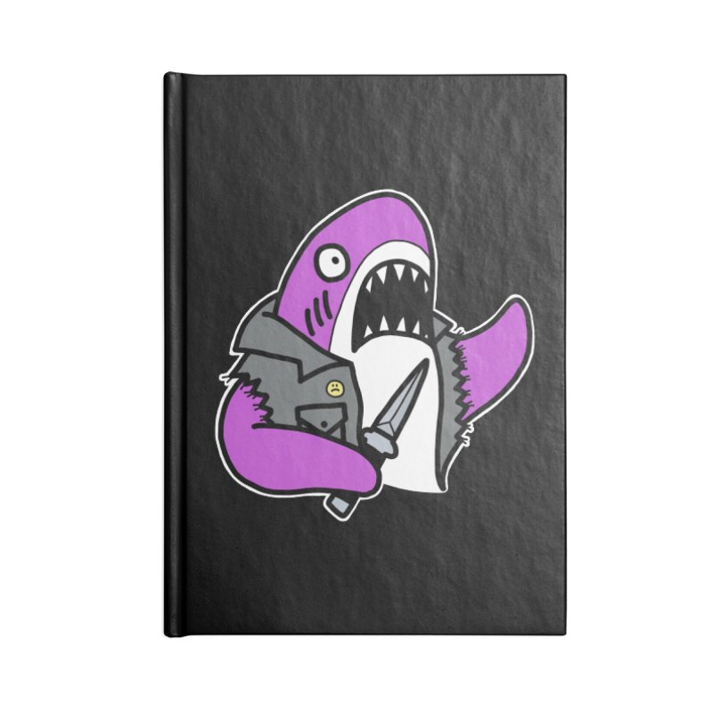 STAB SHARK PINK Accessories Notebook by Tittybats's Artist Shop
