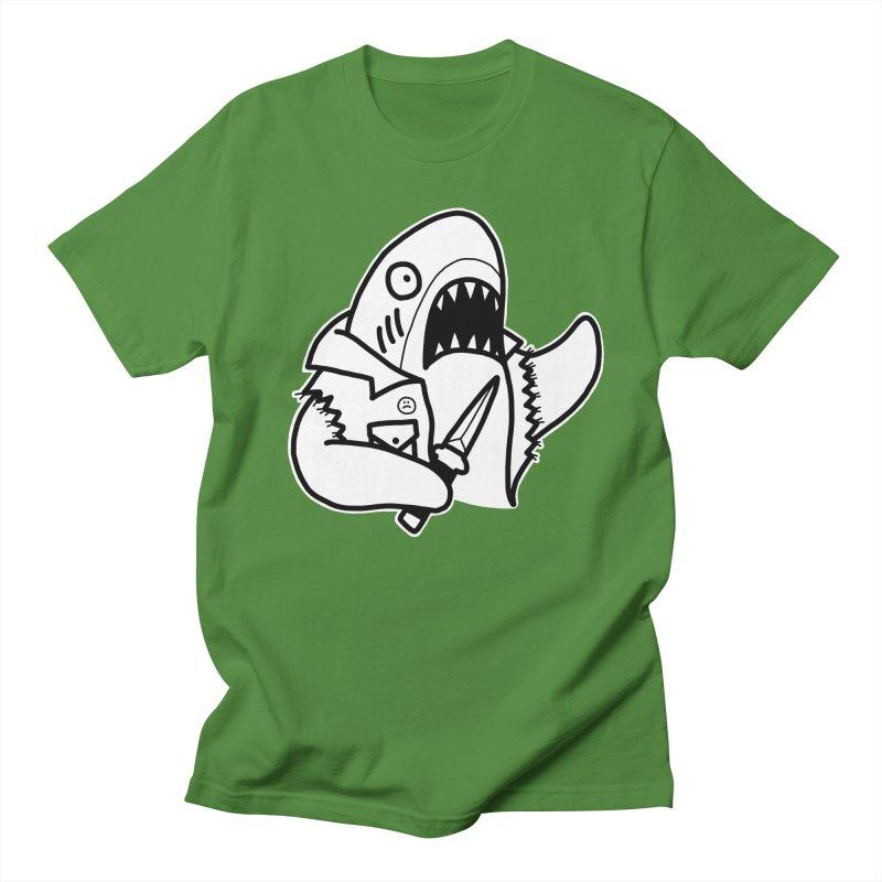 STAB SHARK Women's Regular Unisex T-Shirt by Tittybats's Artist Shop