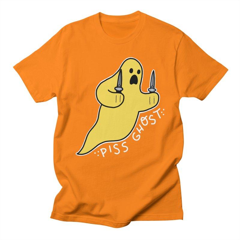 PISS GHOST Women's Regular Unisex T-Shirt by Tittybats's Artist Shop