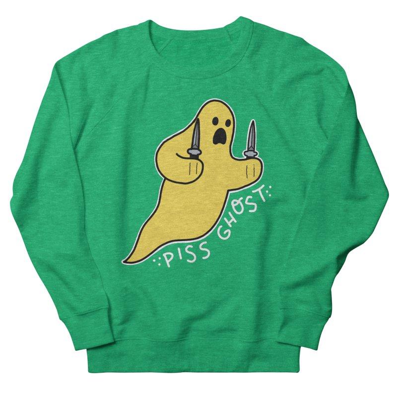 PISS GHOST Men's French Terry Sweatshirt by Tittybats's Artist Shop