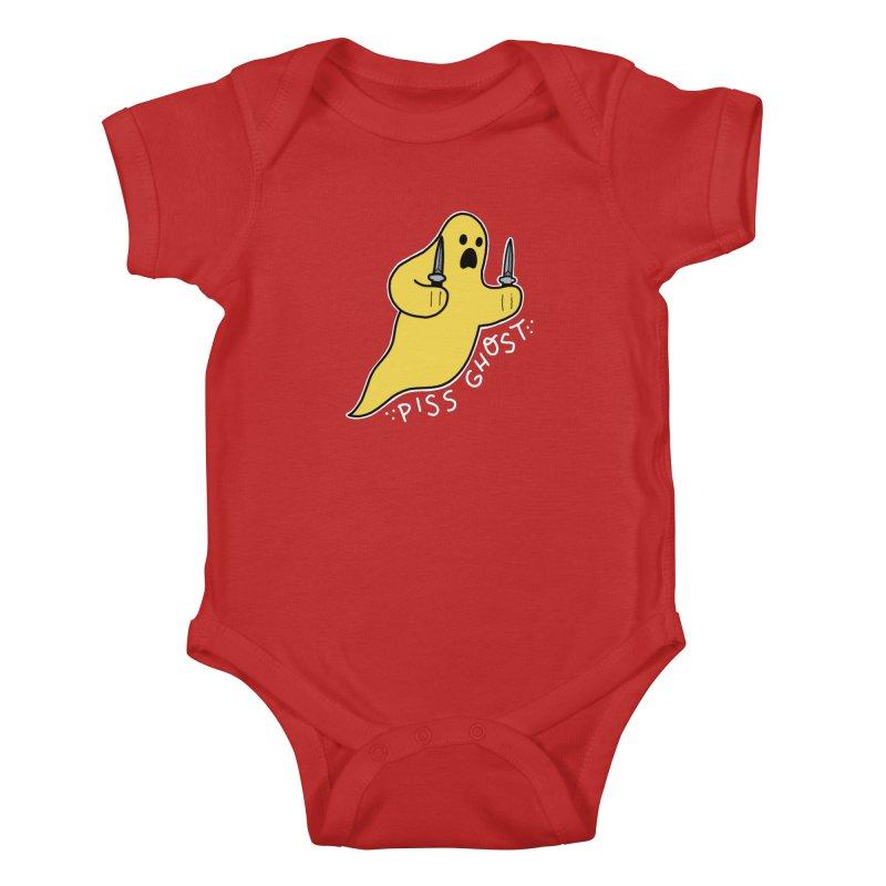 PISS GHOST Kids Baby Bodysuit by Tittybats's Artist Shop