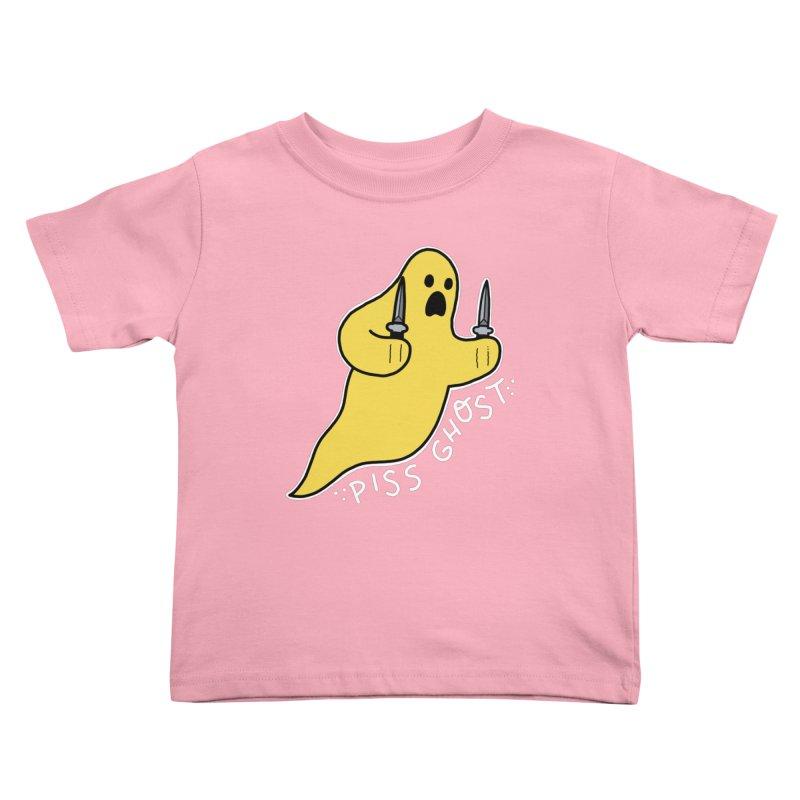 PISS GHOST Kids Toddler T-Shirt by Tittybats's Artist Shop