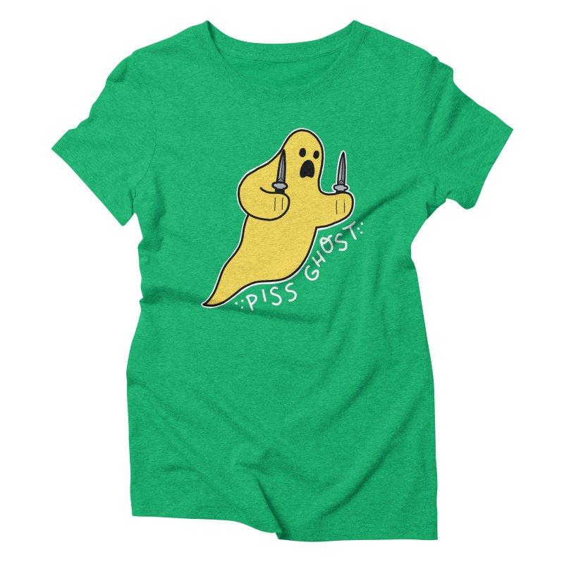 PISS GHOST Women's Triblend T-Shirt by Tittybats's Artist Shop