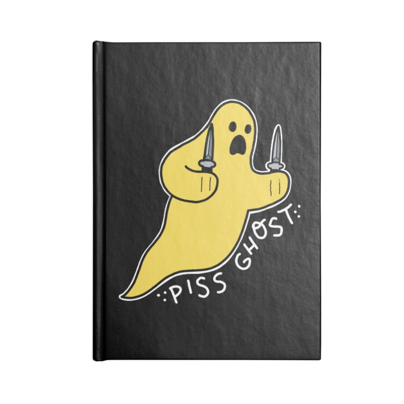 PISS GHOST Accessories Notebook by Tittybats's Artist Shop