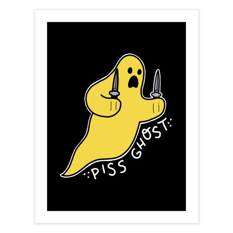 PISS GHOST Home Fine Art Print by Tittybats