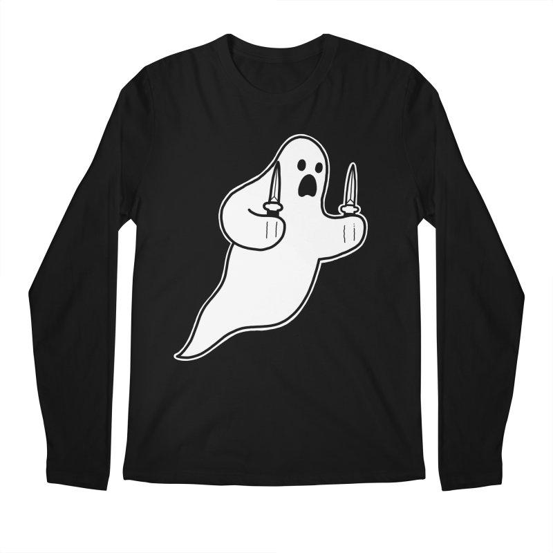 STAB GHOST Men's Regular Longsleeve T-Shirt by Tittybats's Artist Shop