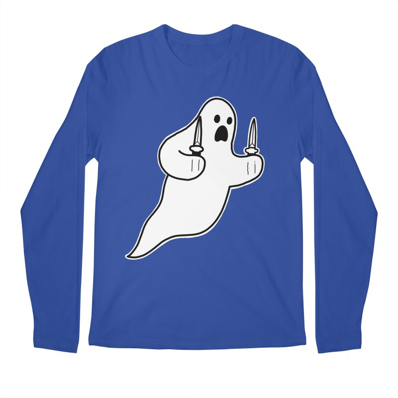 STAB GHOST Men's Regular Longsleeve T-Shirt by Tittybats